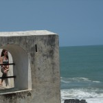 Reflecting upon Elmina Castle's past history and current significance.