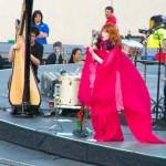 Opening act: Florence & The Machine. <i>Photo by Ania Owczarczyk</i>.