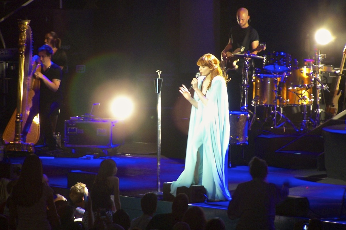 Florence + The Machine in Cleveland, OH. Photo by Ania Beata Owczarczyk.