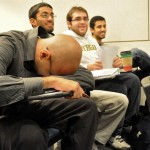 MoDar just needed a little shut eye before the next lecturer. <i>Captured by Ania Owczarczyk.</i>