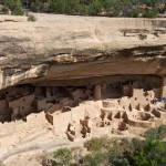 Cliff Palace (largest cliff dwelling at the park, 150 rooms, 23 kivas). Mesa Verde National Park, CO. <i>Photo by Ania Beata Owczarczyk.</i>